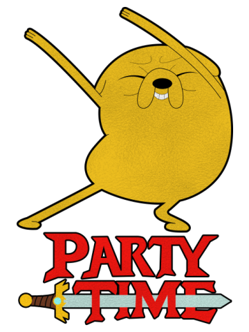 Party Time - Jake the Dog