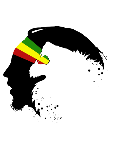 Rasta lion in zion