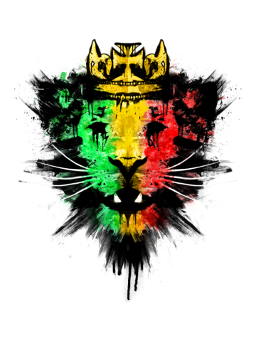 Rastafarian spirit - reggae king