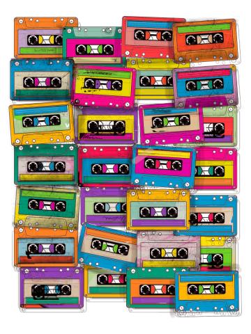 Retro Neon Music