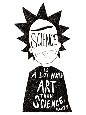 Rick & Morty - More Art Than Science