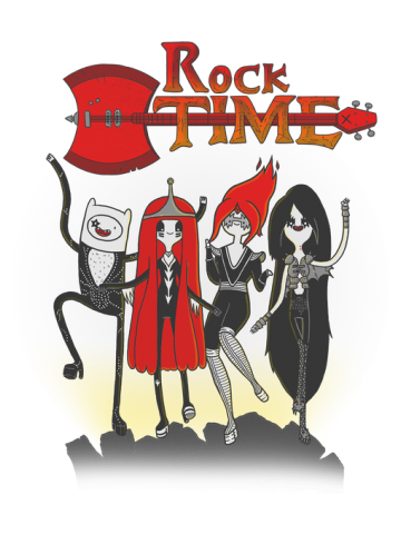 Rock Time - Adventure Time