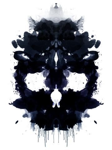 Rorschach Skull dark