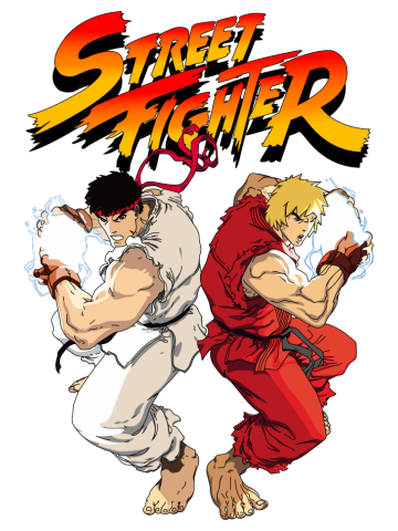 STREET FIGHTER (RYU&KEN)