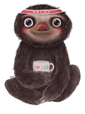 Sloth I♥yoga