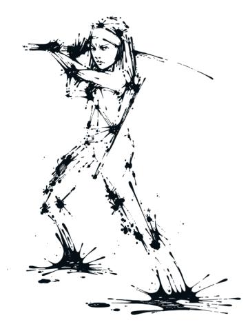 Splaaash Series - Michonne Ink