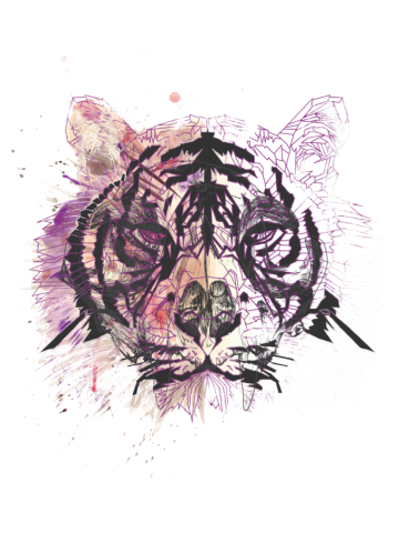 Splatter tiger