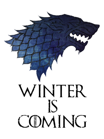 Stark Logo Blue - Game of Thrones