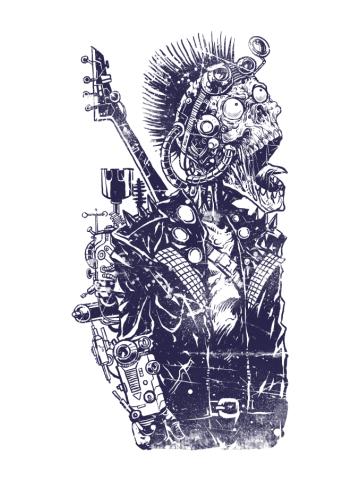 Steampunk Zombie