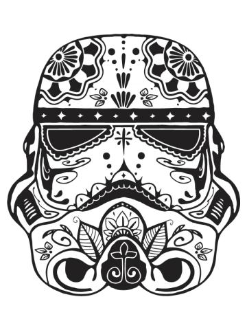 Sugar Storm Trooper - Star Wars