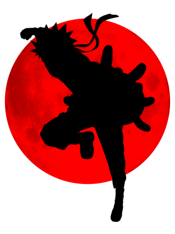 The Ninja and the Red Moon