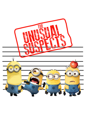 The Unusual Suspects - Minions