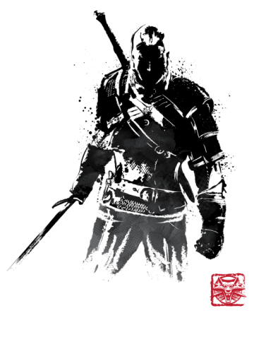 The Witcher Sumi-e v.2
