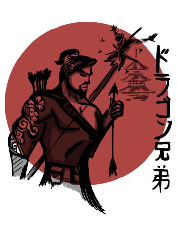 The dragon brothers of hanamura
