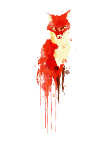 The fox the forest spirit