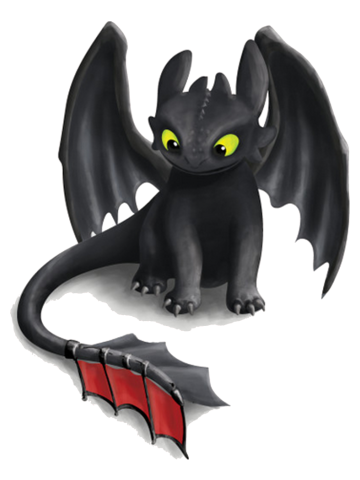 Toothless inspired Dragon