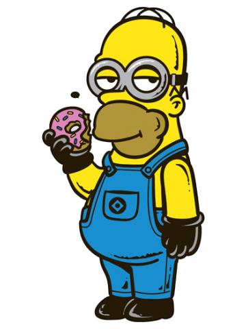 Homer Simpson Minion