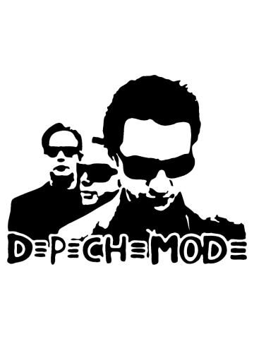 Depeche Mode Stencil
