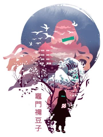 Ukiyo e Nezuko