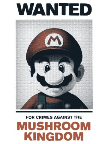 Wanted Mario