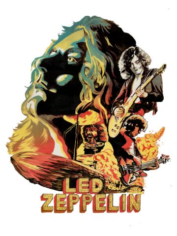 Zeppelin on Fire ALT-0