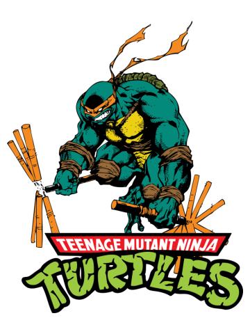 Michaelangelo teenage mutant ninja turtle