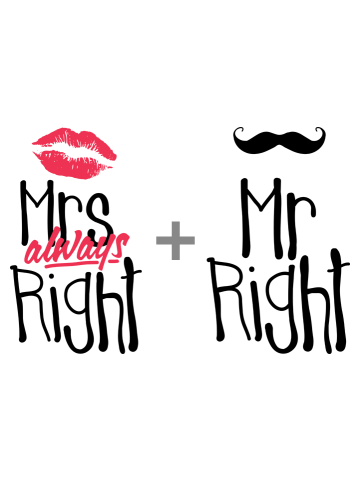 Mr Right si Miss Always Right