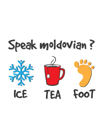 Speak Moldavian ? Ice Tea Foot